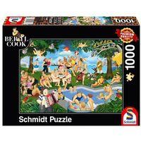Puzzle, Puzzle PQ 1000 Beryl Cook Letnia impreza G3