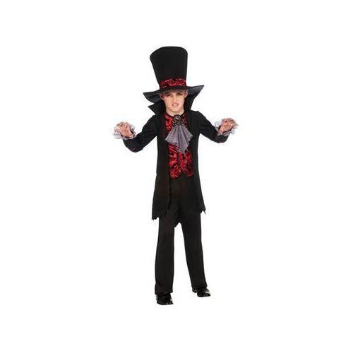 Kostiumy dla dzieci, Kostium Wampir z kapeluszem dla chłopca - Roz. M