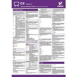 Tablice informatyczne. C#. Wydanie III - Krzysztof Rychlicki-Kicior (opr. broszurowa)