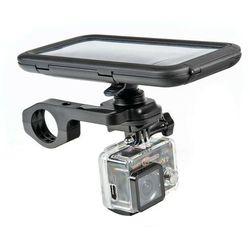 Lampa Opti Combo, uchwyt do mocowania telefonu i kamery sportowej na kierownicy