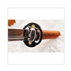 Kuźnia mieczy samurajskich Miecz japoński samurajski ninja do treningu, stal wysokowęglowa 1095, maru, r1023