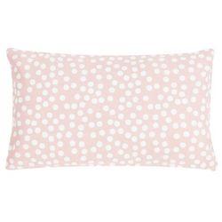 Poduszka Allover Dots 30x50 - różowy ||kremowy