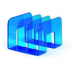 Stojak na katalogi Durable Trend przezroczysty niebieski 1701395540