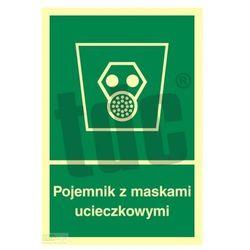 Pojemnik z maskami ucieczkowymi Art. AB003
