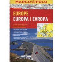 Mapy i atlasy turystyczne, Europa 1:800 000. Atlas samochodowy na spirali. Wyd. 2015. Marco Polo (opr. miękka)