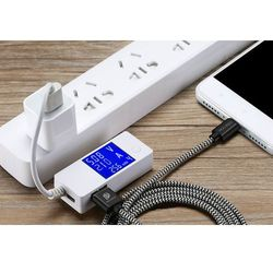 Dux Ducis K-ONE Series nylonowy kabel przewód USB / micro USB 2.1A 3M czarny - 3