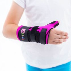 Orteza nadgarstka i kciuka dla dzieci długa do formowania na ciepło MD-139