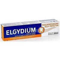 Pasty do zębów, Elgydium protection pasta do zębów przeciw próchnicy z aminofluorkiem fluorinolu75ml