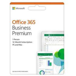 Program Microsoft Office 365 Business Premium PL Win/Mac (100PLN TANIEJ przy zakupie z Laptopem / Komputerem)