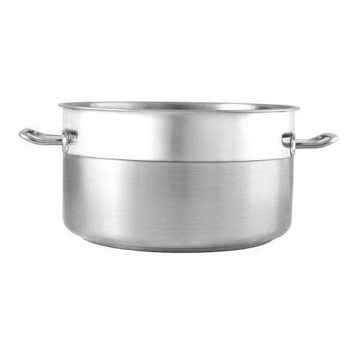 Garnki gastronomiczne, Garnek ze stali nierdzewnej niski - poj. 4.5 l SILVER