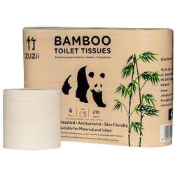 Papier toaletowy bambusowy 6szt. - Zuzii