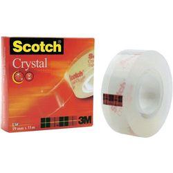 Taśma samoprzylepna Crystal 19 mm x 10 m - Scotch OD 24,99zł DARMOWA DOSTAWA KIOSK RUCHU
