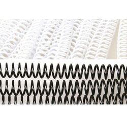 Grzbiety do bindowania spiralne, białe, 6 mm, 100 sztuk, oprawa do 30 kartek - Super Ceny - Rabaty - Autoryzowana dystrybucja - Szybka dostawa - Hurt