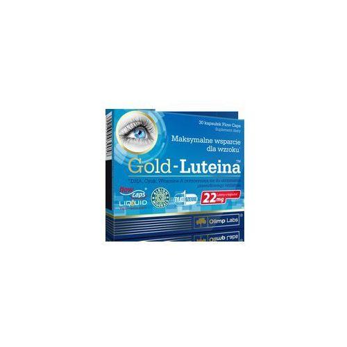 Leki poprawiające wzrok i słuch, OLIMP Gold Luteina 30 kaps.