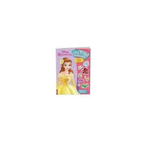 Książki dla dzieci, Disney Księżniczka. Ubieranki, naklejanki (opr. broszurowa)