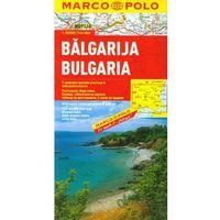 Mapy i atlasy turystyczne, Bułgaria. Mapa samochodowa (opr. kartonowa)