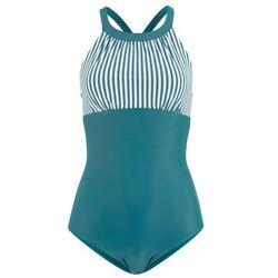 """Bikini na fiszbinach """"minimizer"""" (2 części) bonprix czarno-naturalny"""