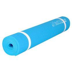 Mata do ćwiczeń fitness inSPORTline EVA 173 x 60 cm, Jasno-niebieski