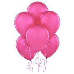 Balony lateksowe pastelowe fuksjowe - średnie - 100 szt.