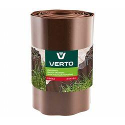 Obrzeże do trawników VERTO 15G515 Brązowy (20 cm x 9 m)