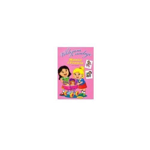 Książki dla dzieci, WKLEJAM I MALUJĘ. MANIA I FRANIA (opr. miękka)