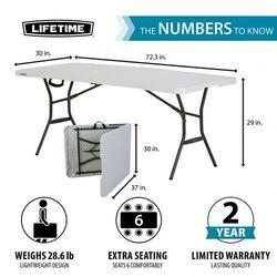 Stół kateringowy 180 cm składany