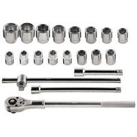 Zestawy narzędzi ręcznych, Zestaw kluczy nasadowych NEO 3/4 cala 08-061 (21 elementów) + Zamów z DOSTAWĄ JUTRO! + DARMOWY TRANSPORT!
