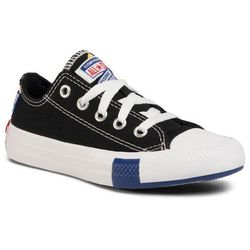 Trampki CONVERSE - Ctas Ox 366992C Black/Rush Blue/University Red