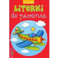 Książki dla dzieci, Literki do pisania 4-6 lat (opr. miękka)