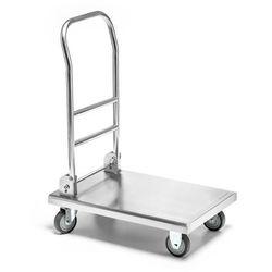 Wózek platformowy nierdzewny składany FORGAST
