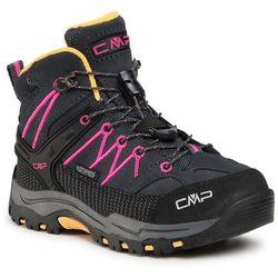 Trekkingi CMP - Kids Rigel Mid Trekking Shoe Wp 3Q12944 Antracite/Bouganville 54UE