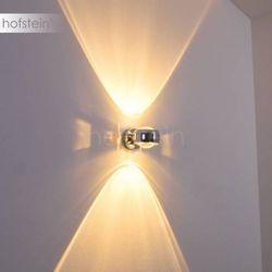Sapri Lampa ścienna chrom Chrom, 1-punktowy - Nowoczesny - Obszar wewnętrzny - Sapri - Czas dostawy: od 2-4 dni roboczych