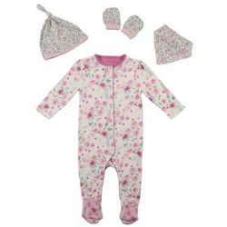 mothercare GIRLS EASY PRECIOUS GIFT SET Chusta pastels multi