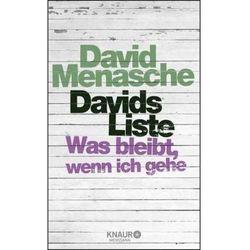Davids Liste Menasche, David