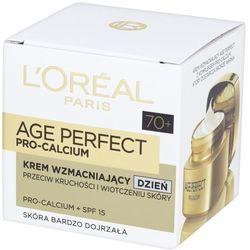 L'OREAL Age Perfect Pro-Calcium 70+ bogaty krem wzmacniajacy na dzien 50ml