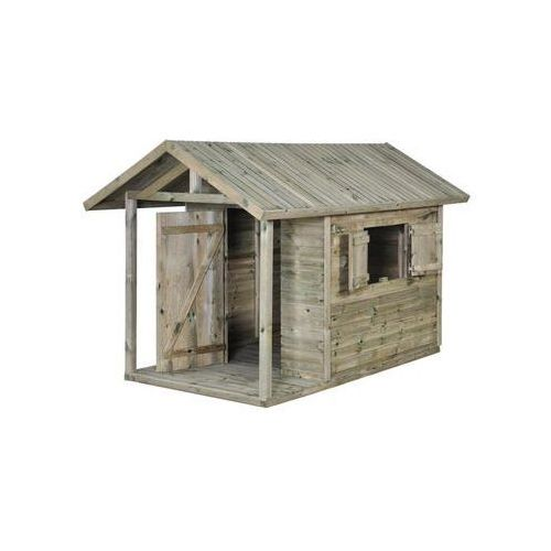 Domki i namioty dla dzieci, Domek dla dzieci JAKOB 150 x 242,5 x 160 cm SOBEX
