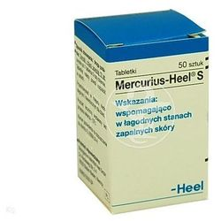 HEEL Mercurius-Heel S tabl. - 50 tabl. (pojem.)