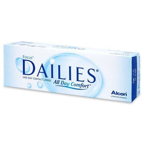 Soczewki kontaktowe, Focus Dailies All Day Comfort 30 szt.