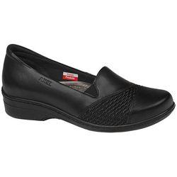 Półbuty na koturnie AXEL Comfort 1370 Czarne - Czarny