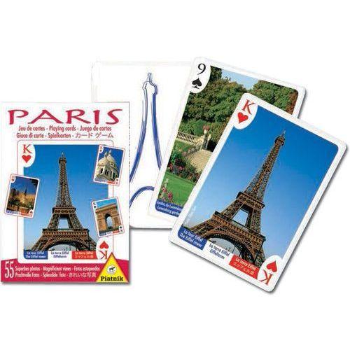 Gry dla dzieci, Karty do gry Piatnik 1 talia, Paryż