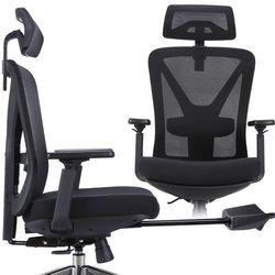 Fotel biurowy ergo NORDHOLD - SKADI PLUS - czarny