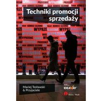 Biblioteka biznesu, Techniki promocji sprzedaży (opr. miękka)