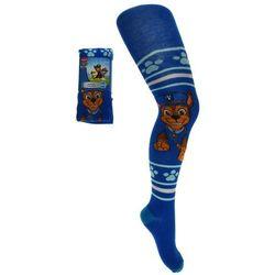 Bawełniane rajstopy dziecięce Psi Patrol - Niebieski ||Kolorowy