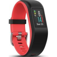 Smartbandy, Smartband GARMIN Vivosport S/M Czerwono-czarny + DARMOWY TRANSPORT!