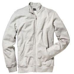 Bluza rozpinana Regular Fit bonprix jasnoszary melanż