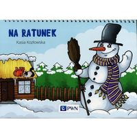 Książki dla dzieci, Bajki na cztery pory roku Na ratunek - Kasia Kozłowska (opr. miękka)