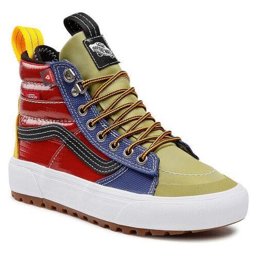Damskie obuwie sportowe, Sneakersy VANS - Sk8-Hi Mte 2.0 Dx VN0A4P3I2UT1M (Mte) Multi/Black