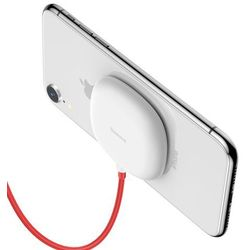 Baseus Suction Cup Wireless Charger bezprzewodowa ładowarka Qi z przyssawką (WXXP-02) biały