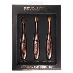 Makeup Revolution Precision Eye Set Zestaw szczotek do makijażu oczu 1op. - MAKE UP REVOLUTION