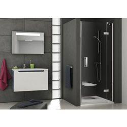 Ravak SmartLine drzwi prysznicowe SMSD2-100a, prawe, Chrom+Transparent 190 cm 0SPAAA00Z1